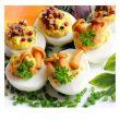 Przepis na karnawałowe przyjęcie:  Jajka faszerowane w wersji light